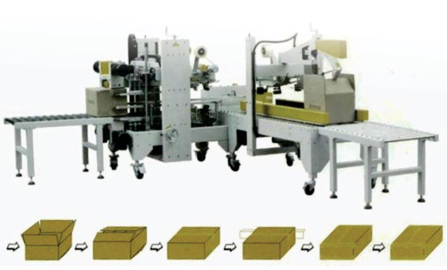automatic box taping machine